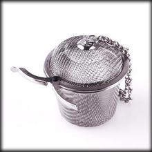 50% shipping fee 50pcs Stainless Mesh Ball Reusable Strainer Herbal Locking Tea Filter Infuser Spice S Size