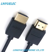 0.3M 1.5M 2M 3M 5M 7.5M 10M 15M Gold Plated Plug Male-Male HDMI Cable 1.4 Version Flat line short 1080p 3D for PS3HDTV