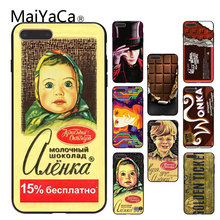 Buy MaiYaCa iphone 7 plus phone case alenka bar wonka chocolate Hot fashion design Cell phone Case iPhone X 6S 7plus 8Plus 5 for $1.19 in AliExpress store