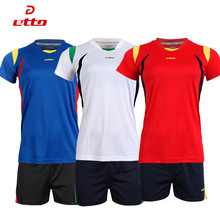 Etto Professional Volleyball Jerseys Women Sleeveless Volleyball Training Set Soft Outdoor Sports Fitness Tshirt Shorts HXB007