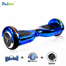 USA/UK Stock 6.5 inch Electric scooter hoverboard skateboard 2 wheel electric self balancing scooter skateboard with Bluetooth(China)