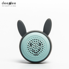 DEEPDEE Mini Wireless Bluetooth Speaker Portable Cute Cartoon Animals Stereo Loudspeaker with Botton Control Self-timer