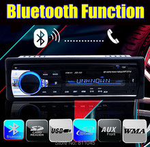 new 12V Car audio FM car Radio bluetooth MP3 Audio Player Bluetooth cellphone handfree USB/SD MMC Port Car radio In Dash one DIN
