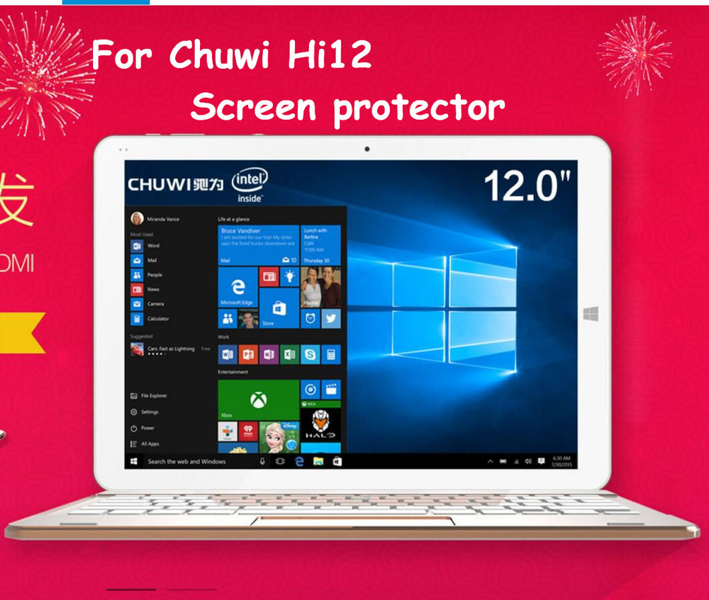 3pcs/lot For Chuwi Hi12 High Clear Screen protector,high clear screen protective film cover for Chuwi Hi12<br><br>Aliexpress