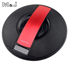M&J Sardine SDY-021 Portable Wireless Bluetooth Speaker 8W Trumpets Stereo Audio Sound With Mic Broadcast Caller For Phone PC