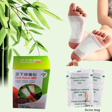 20Pcs=1Box Bangdeli Detox foot patch ZB detox pads for feet body cleansing patches foot care product