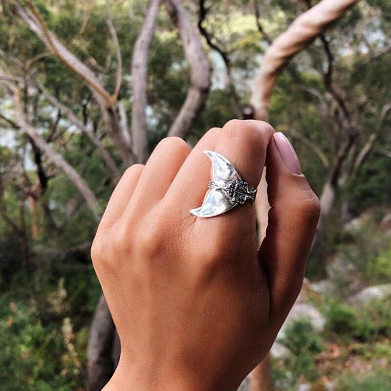 Mystical Mermaid Tail Vintage Ring