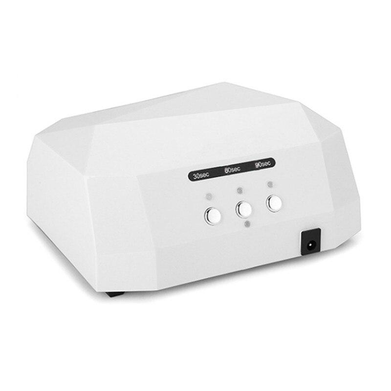 Hot selling Professional 100-240V 36W CCFL  LED UV Gel Lamp Light Nail Dryer Nail Tool EU Plug<br>
