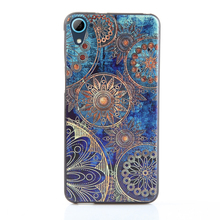 For HTC Desire 820 826 Case,3D Stereo Relief Painting Back Covers Cases Slim Silicon Phone Protector for HTC Desire 820 5.5inch