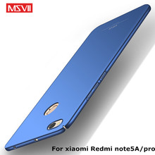 Buy MSVII Xiaomi Redmi Note 5A Case Redmi Note 5A Pro Case Note5a Ultra Thin 360 Full Protection PC Frosted Hard Back Cover for $4.99 in AliExpress store