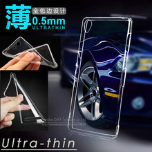 Ultra Clear Crystal Transparent TPU Soft Case Cover For Sony Xperia Z1 Z2 Z3 Z4 Z5 Compact mini M2 T2 T3 C3 C4 C5 E3 E4 E5 M5