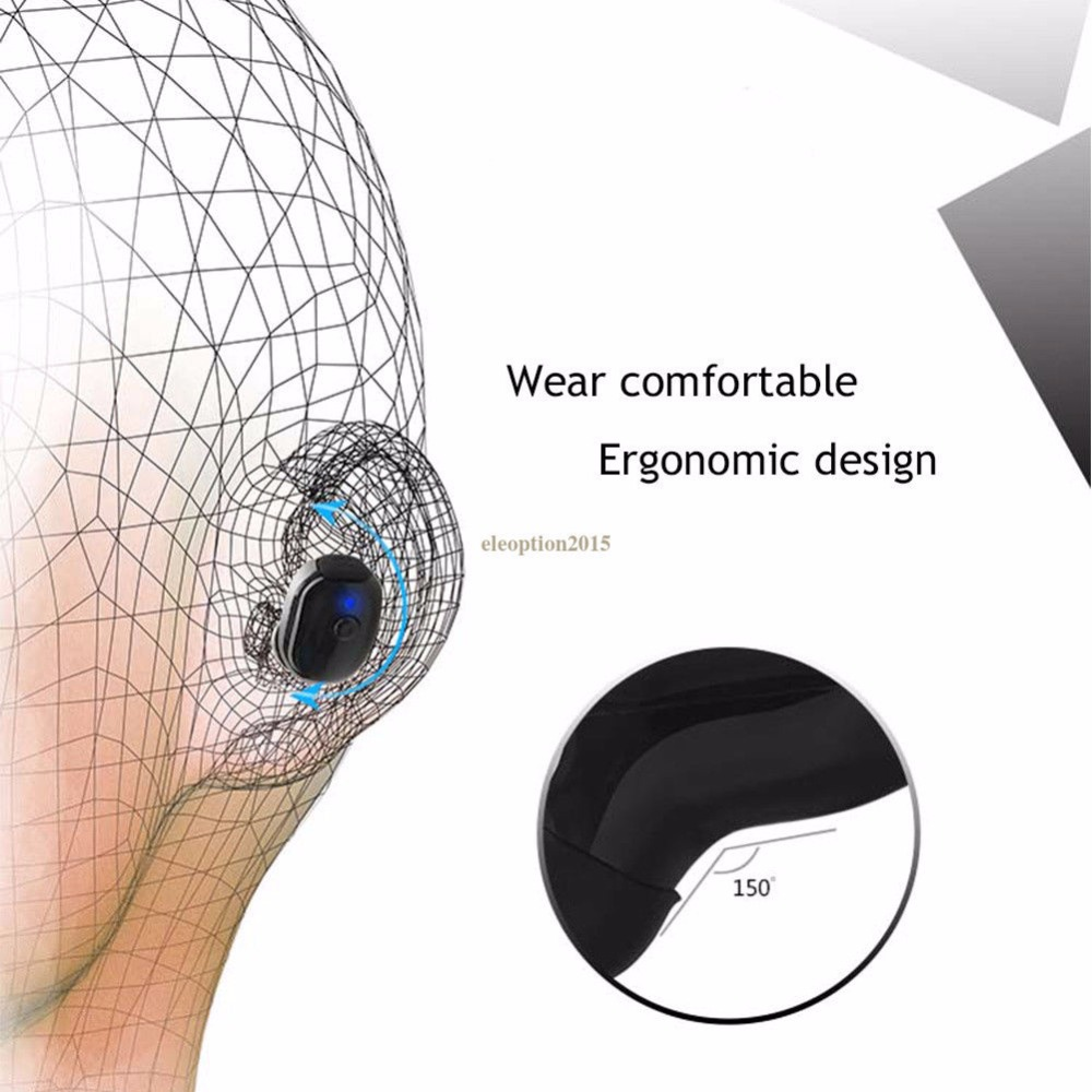 Waterproof Mini Invisible Bluetooth Earphone Micro Wireless Sport headset 4.2 Earbud headset Swimming Micro Headphones Bluetooth
