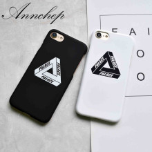 Fashion Luxury Brand Letters matte pc case For iphone 5 5s SE 6 6s plus 7 7 Plus cover carcasa coque fundas phone palace cases