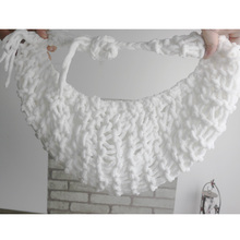 Crochet Baby White Hammock Photography Props Knitted Newborn Costume Photo Props atrezzo baby photos fotografia accessories