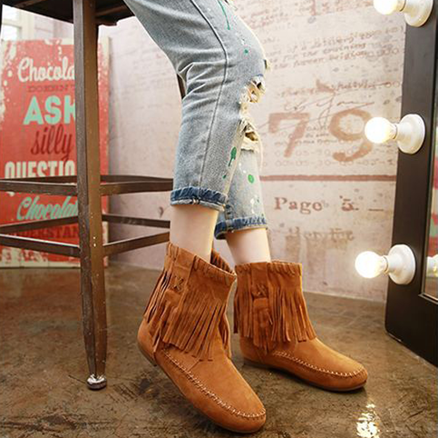 Fringe Cowboy Boots(5)