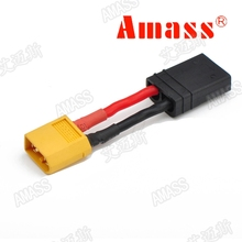 Buy Amass RC Model Conversion Cable XT60 Male TRX Female Adapter Line XT60-TRX Battery Transfer Connector for $5.99 in AliExpress store