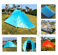 1-2 Person tourist Tent Double-layer windproof Tent Waterproof Dome Tent Camping 4 seasons Tent