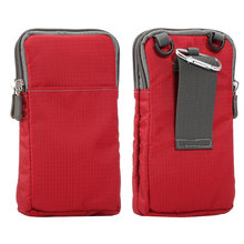 Outdoor 6.0 inch Phone Pouch Wallet Belt Clip Bag for Samsung Galaxy A3 A5 A7 2016 J3 J5 J7 S5 S6 S7 edge Plus Grand Prime Case