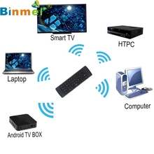 Factory Price Binmer New  Wireless Remote Control Keyboard Air Mouse 2.4G For XBMC Android TV Box Mini PC Nov28 Drop Shipping