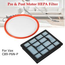 KROAK Pre & Post Motor HEPA Filter For Vax Power 6 C89-P6N-P Vacuum Cleaner Hoover Filter Pad(China)