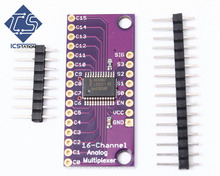 CD74HC4067 Analog Digital MUX Breakout Board Compatible Arduino With Pin Header(China)