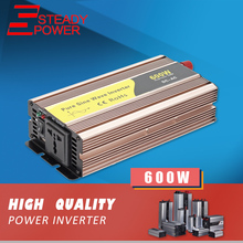 (P-600) Variable frequency 600w 12v 24v to 220v 50hz 60hz pure sine wave psw inverter