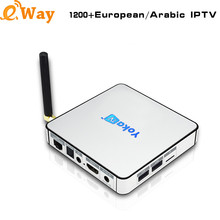 High Quality KB2 4K France IPTV Media Player 1200+ Live Arabic IPTV Africa Algeria Italy German Swedish USA UK European Channels(China)
