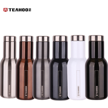 TEAHOO Brand Water Bottle Stainless Steel Lacquer High Vacuum Applicable Bottle Outdoor Tour Bottle Sport Kettle Paint(China)