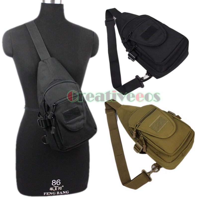 Men Casual Waterproof 10000D Nylon Military Travel Cross Body Messenger Pack Sling Chest Bag Pouch<br><br>Aliexpress