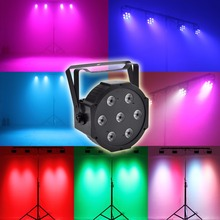 RGBW 75W Led Stage Par Light Dmx Control 4-in-1 Christmas lighting for Wedding DJ Event Party Show(China)