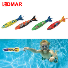 DMAR Diving Torpedo Throwing Children Pool Toys Swimming Water Toys for Kids Beach Summer Sports Pool Float(China)
