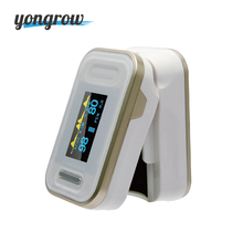Yongrow New Gold Finger Pulse Oximeter FDA CE Fingertip Pulse Oximeter  Best Family Gifts Portable Pulse Oximeter Finger SPO2 PR