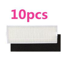 10pcs/set Vacuum Cleaner Parts Replacement HEPA Filter For Ecovacs Dibea DT85 DT83 DM81 Vacuum Cleaner