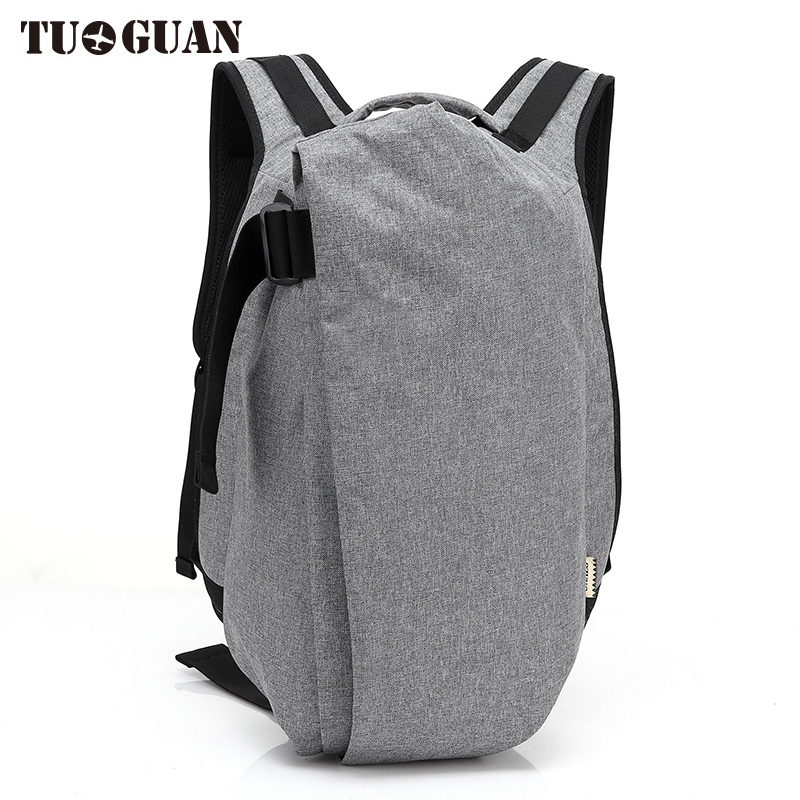 TUGUAN Fashion Men Anti Theft Backpacks Waterproof Creative Travel Schoolbag Laptop Back Pack College Student Computer Bags Male<br>