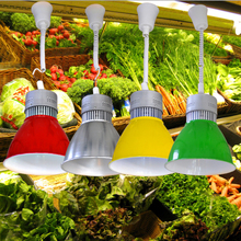 The led lamp of fresh pork lamp light supermarket light fresh light meat meat cooked seafood lamp light