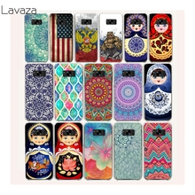 Lavaza 19af Mandala Palace Russian dolls Hard Plastic Transparent Cases for Samsung galaxy S8 plus cover fundas S8plus(China)