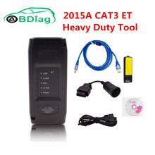 Newest 2015A CAT ET 3 CAT 3 Adapter III P/N 317-7485 CAT3 Support USB/WIFI Connection Heavy Duty Truck Diagnostic Tool