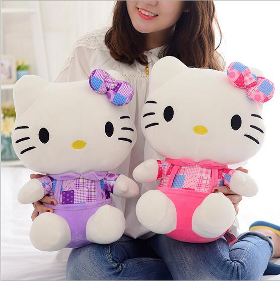 Baby stuffed toy new style KT cat Hello Kitty girl birthday gift children Plush toy Christmas doll<br><br>Aliexpress