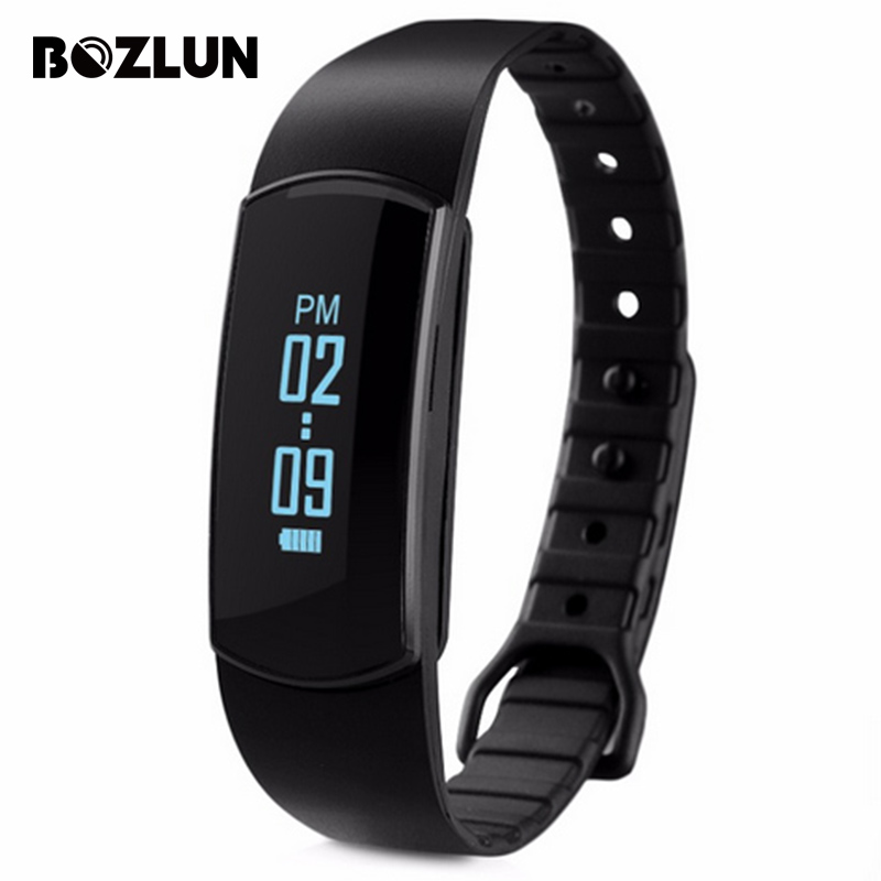 Bozlun SH09 New Heart Rate Monitor Smart Bracelet Sport Watch Fitness Tracker Bluetooth Call Reminder Sleep Montion Wristwatches<br><br>Aliexpress