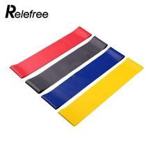 Relefree Fitness Equipment Cross Fit Loop Pull Up Fitness Yoga Resistance Bands Rubber Expander Band Pounds For Training Body(China)