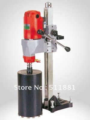 7'' 180mm DESKTOP Core Drill Machine and 2.5'' 63mm concrete wall dry core drill bits| with protect switch | 14kg NET weight(China)