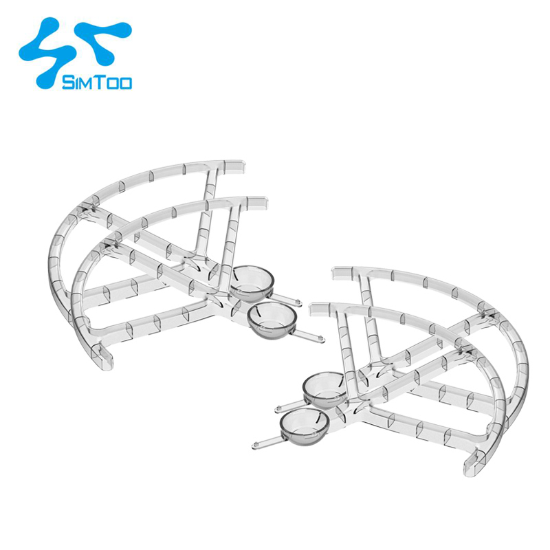 4 pcs Protective propeller aerial parts protection cover a set for Simtoo star map Dragonfly UAV quadrotor<br>
