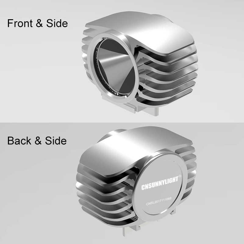 Led Motorcycle Headlight 15W 1800LM Car Fog DRL Headlamp Spotlight Hunting Driving Light High Bright External Inner Mounted Lamp