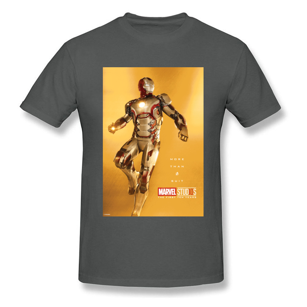 Tops Tees Marvel More Than A Suit Thanksgiving Day Short Sleeve Pure Cotton Round Neck Men Top T-shirts Casual Tshirts Prevalent More Than A Suit carbon