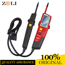 2017 newest UT18D Voltage And Continuity Testers UT18D Auto Range Volt Detectors Pen LED/LCD Display free shipping(China)