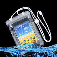 Waterproof Dry Bag Mobile Phone Case Transparent With Scrub Wholesale Drop Shipping(China)