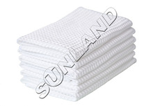 "6-pack 12""x12"" Microfiber Deep Waffle Weave Washcloths Facial Cloth Dish Cloths Dishcloths Household Cleaning Rags"