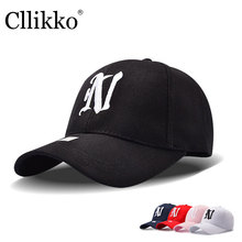 Cllikko brand Baseball Caps For Men Women Letter Embroidery  Men's hats Snapback High quality Hip Hop Cap fishing Hat