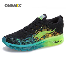 onemix Air Men Knit Free 4.0 Running Shoe for Men Air Brand 2016 men Sport Sneaker Breathable Mesh Athletic Outdoor Cushion Shoe