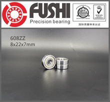 608ZZ Bearing 8x22x7 mm ( 10 PCS ) ABEC-5 Skate Stroller Miniature 608 ZZ Ball Bearings 608Z 608 2Z Bearing(China)